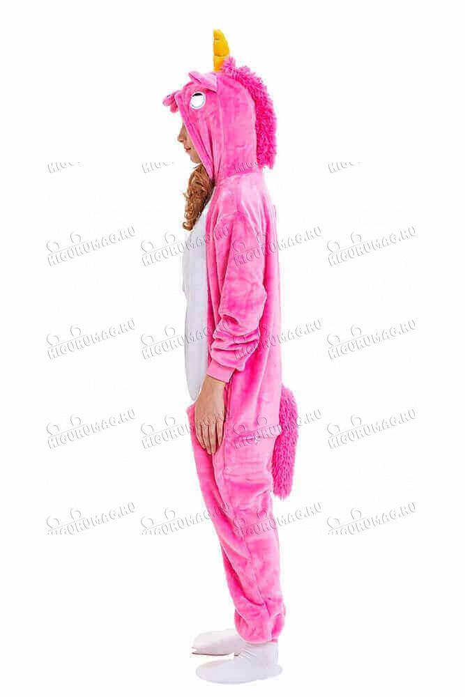 Кигуруми Розовый единорог - 6