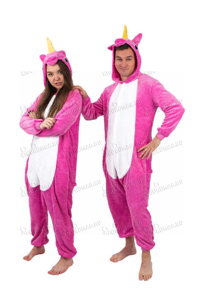 Кигуруми Единорог Розовый