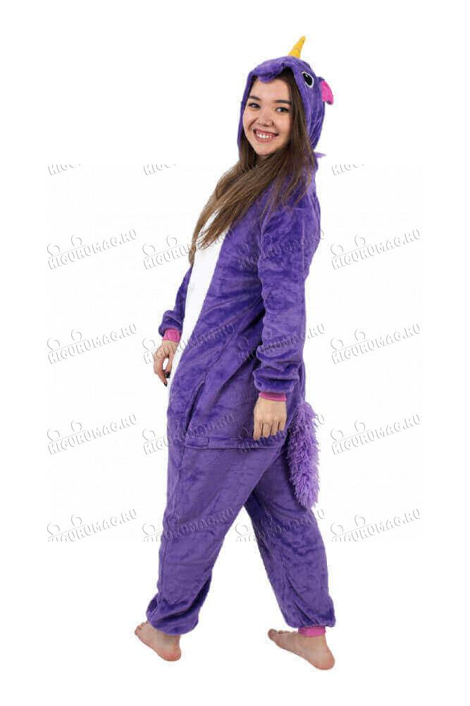 Кигуруми Единорог Фиолетовый - 4