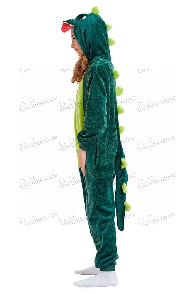 Кигуруми Зеленый динозавр - 6