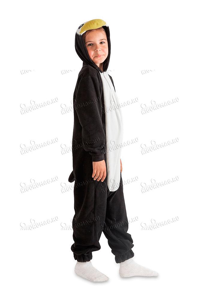 Кигуруми детский Пингвин