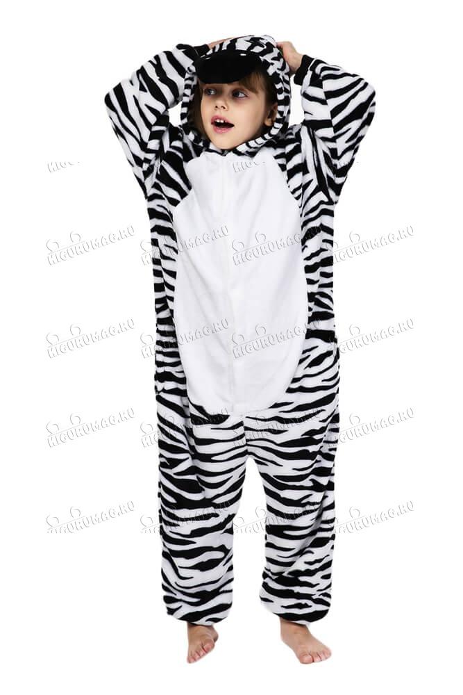 Кигуруми детский Зебра - 4