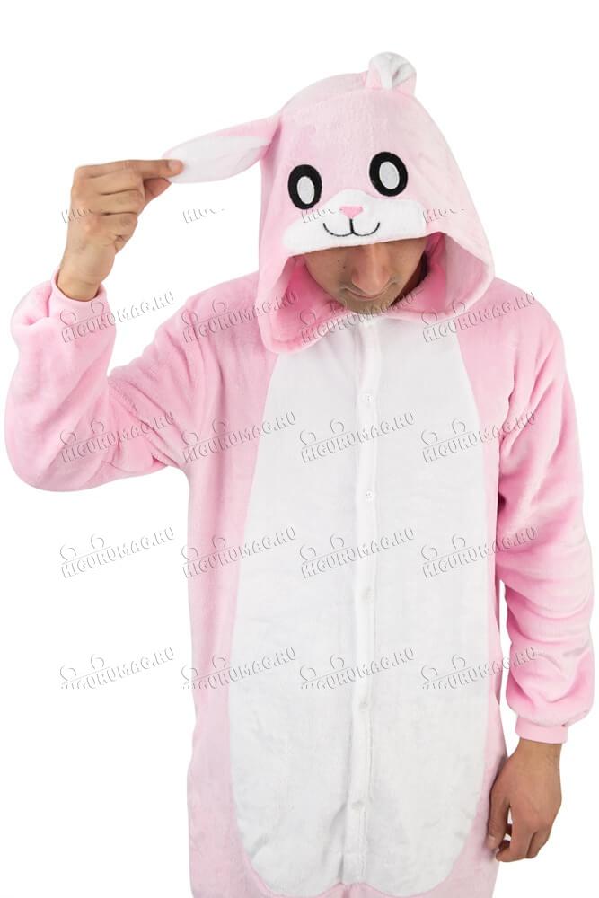 Кигуруми Розовый Кролик - 13