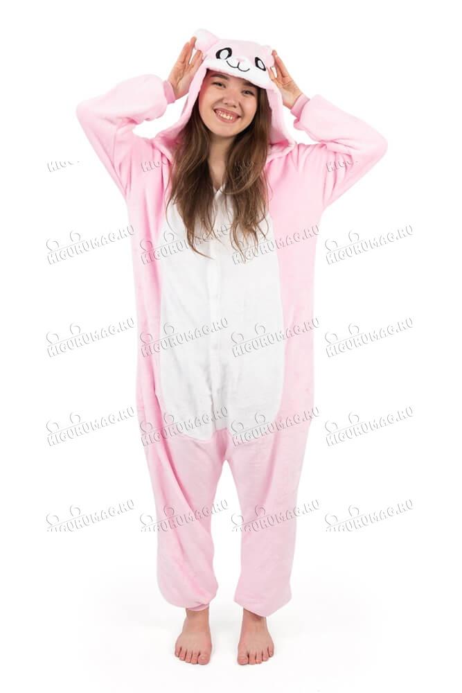 Кигуруми Розовый Кролик - 2