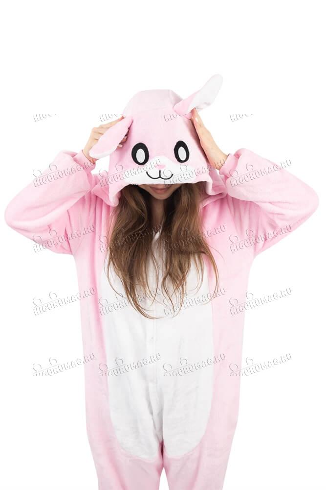 Кигуруми Розовый Кролик - 7