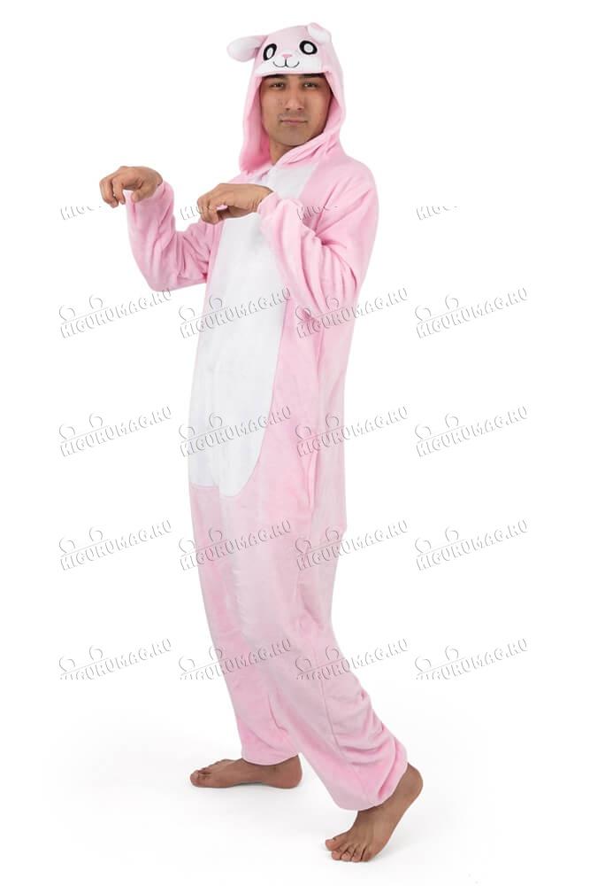 Кигуруми Розовый Кролик - 10