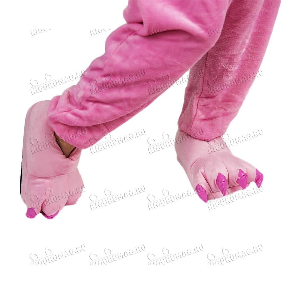 Тапки Лапки розовые M, 35-40 размер - 3