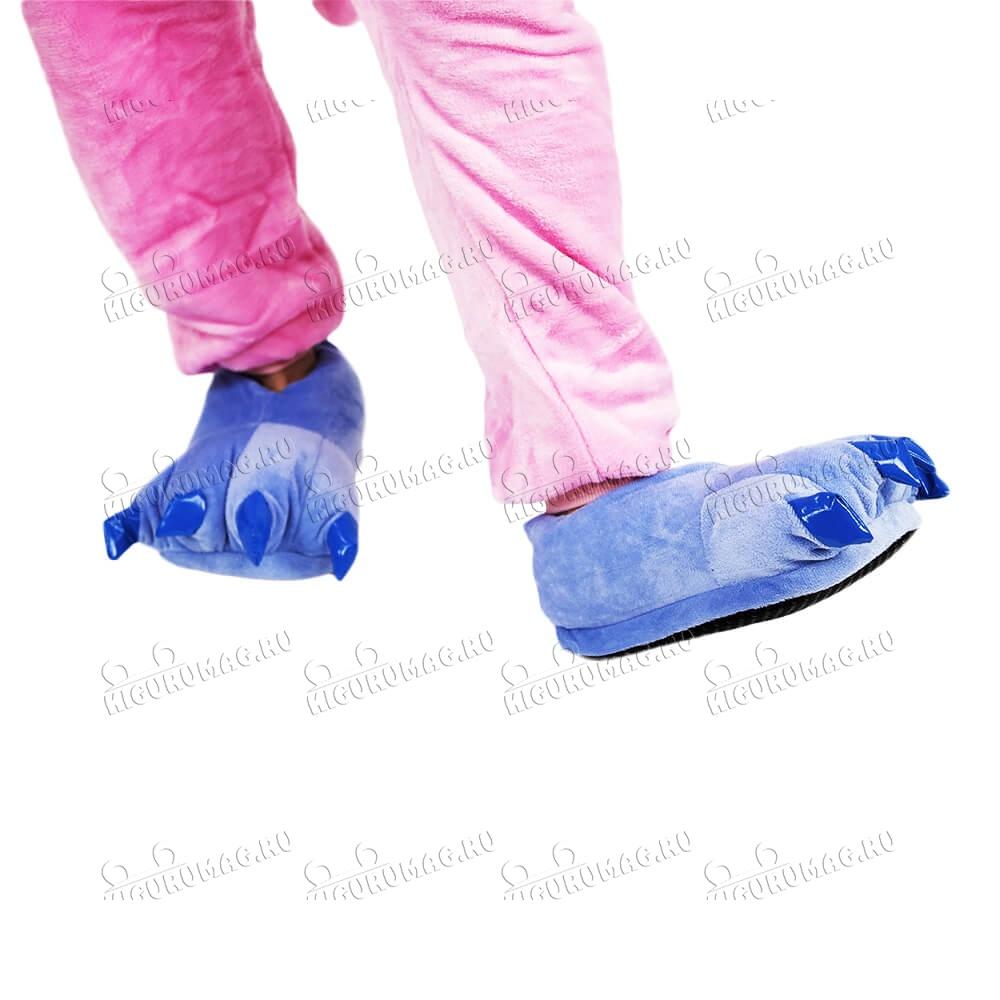 Тапки Лапки синие M, 35-40 размер - 2