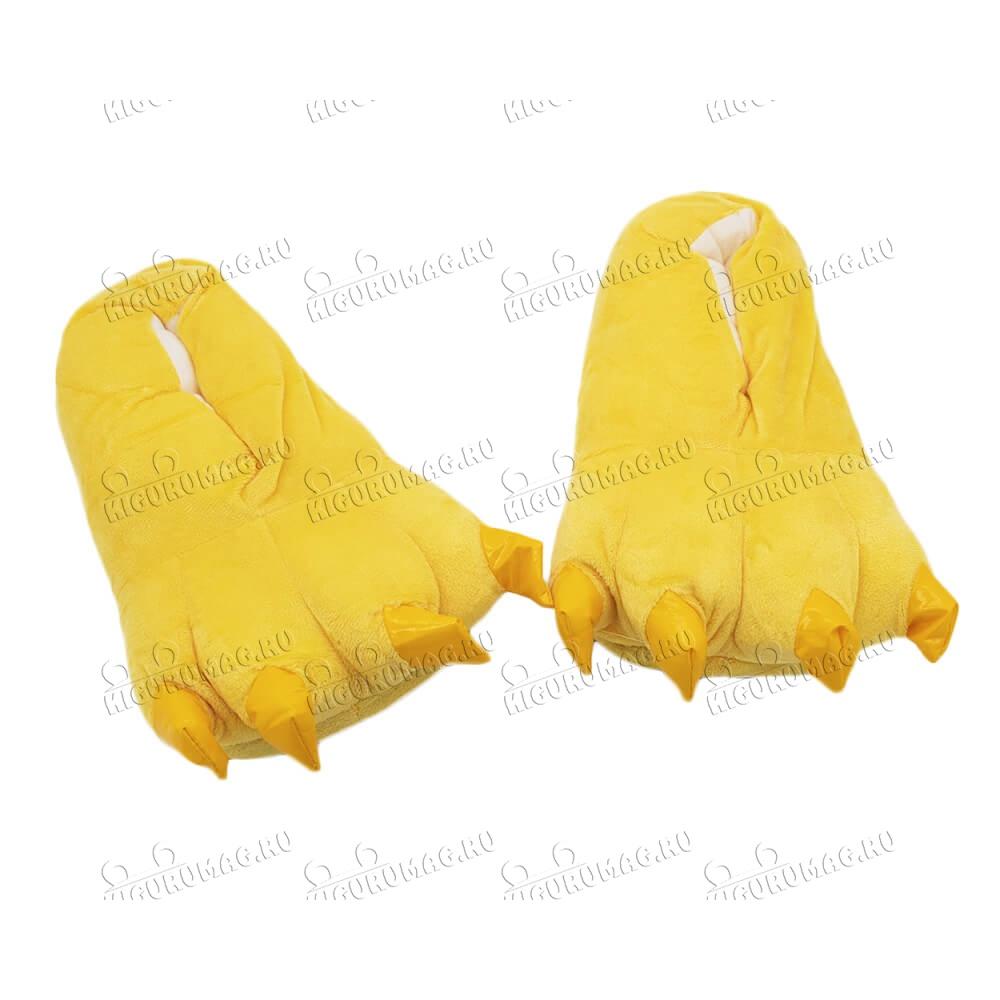 Тапки Лапки желтые M, 35-40 размер - 5