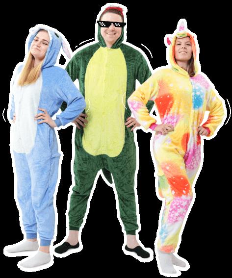 Пижамы-Кигуруми от 1150 руб.